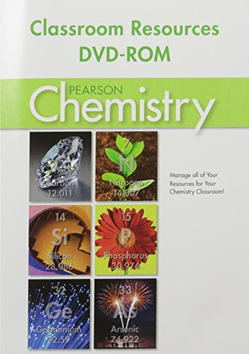CHEMISTRY 2012 CLASSROOM RESOURCE DVD: PRENTICE HALL