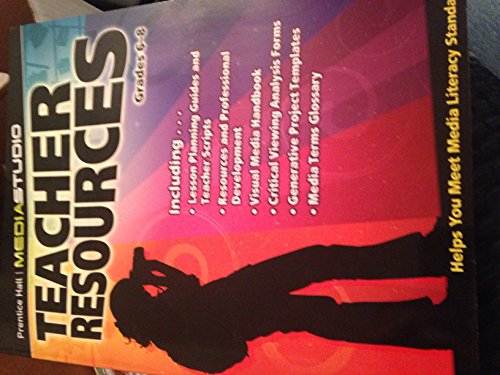 9780132535403: Teacher Resources, Grades 6-8, Prentice Hall Mediastudio