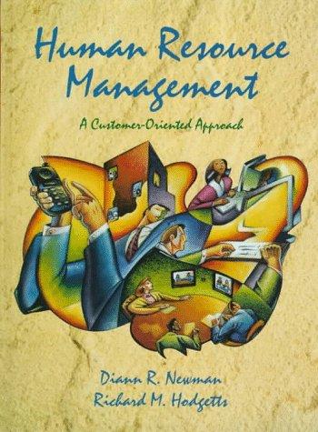 9780132536752: Human Resource Management: A Customer-Oriented Approach
