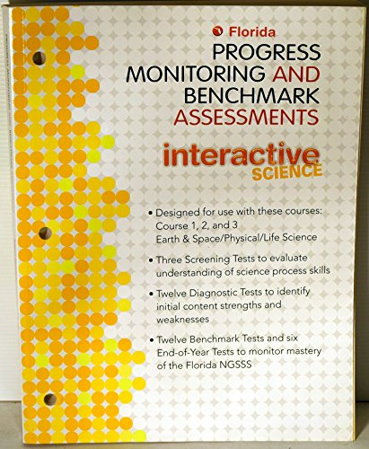 9780132537131: Florida Progress Monitoring and Benchmark Assessments (Interactive Science)