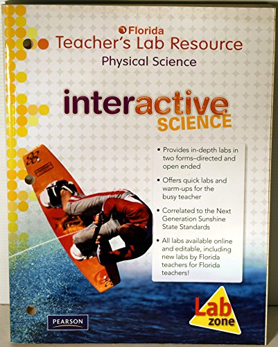 9780132537193: Florida Teacher's Lab Resource, Physical Science (Interactive Science)