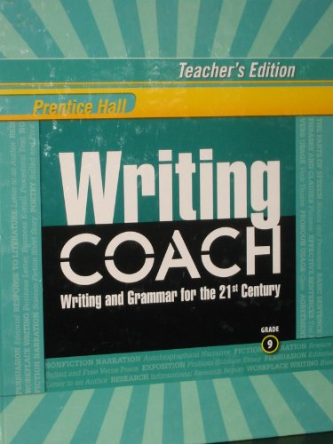 Prentice Hall Writing Coach/Writing and Grammar for