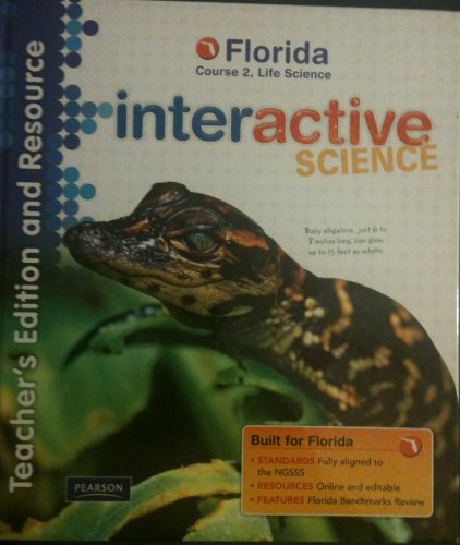 9780132537360: Interactive Science (Teachers Edition and Resource, Course 2, Life Science)