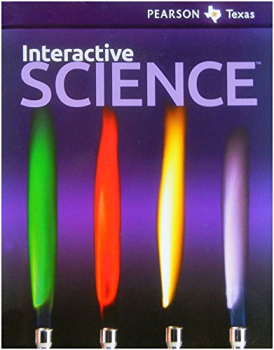 Pearson Texas Interactive Science Grade 6 Student: Texas, Pearson