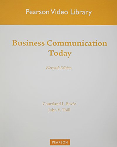 9780132539616: Videos on DVD for Business Communication Today