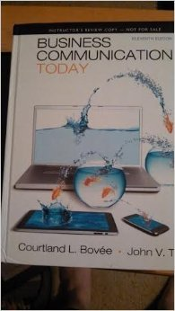 9780132539692: Business Communication Today