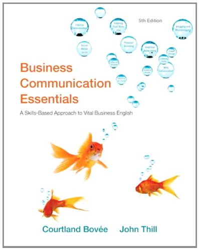 9780132539715: Business Communication Essentials (Mybcommlab)