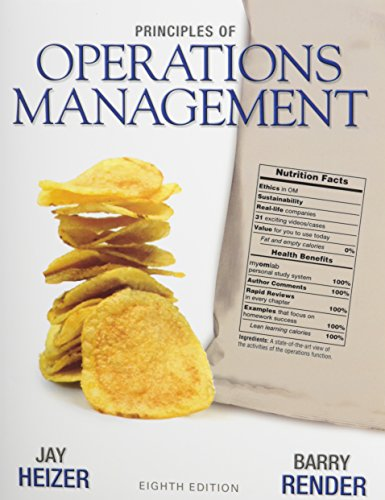 9780132539890: Principles of Operations Management with DVD Library (8th Edition)