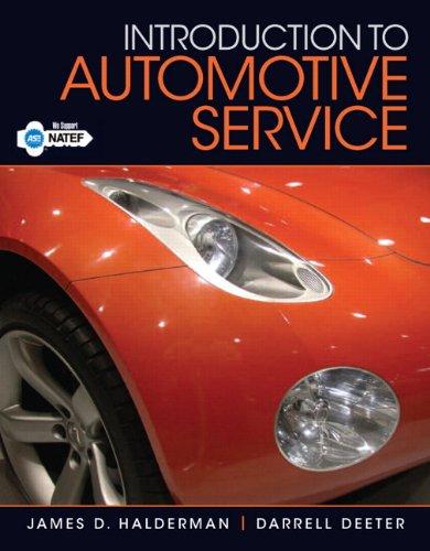 9780132540087: Introduction to Automotive Service (Automotive Comprehensive Books)