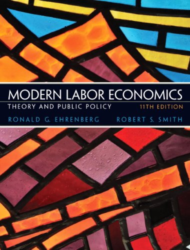9780132540643: Modern Labor Economics: Theory and Public Policy (11th Edition)