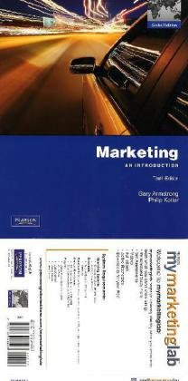 9780132542050: Marketing: An Introduction (with MyMarketingLab and Pearson EText Student Access Code Card)