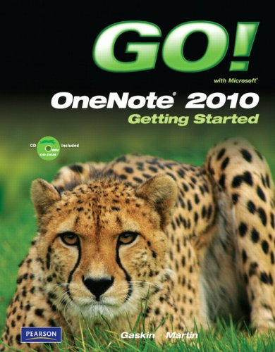 9780132542999: GO! with Microsoft OneNote 2010 Getting Started