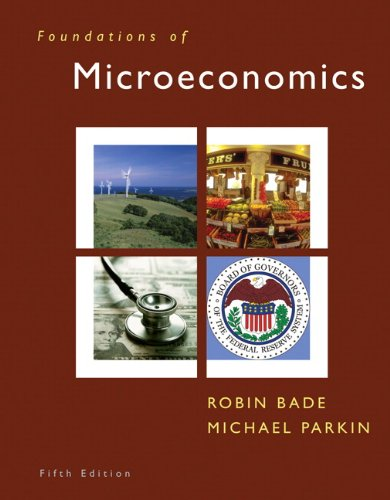 9780132543514: Foundations of Microeconomics & MyEconLab Student Access Code Card (5th Edition)