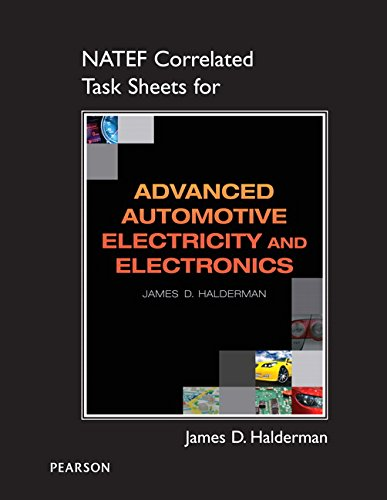 9780132543613: NATEF Correlated Task Sheets for Advanced Electricity and Electronics