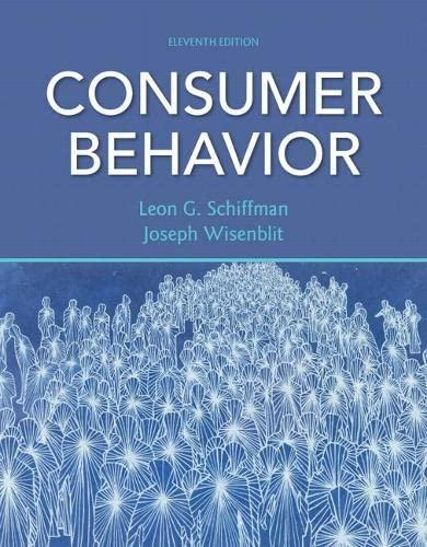 Consumer Behavior (Hardback): Leon G. Schiffman,