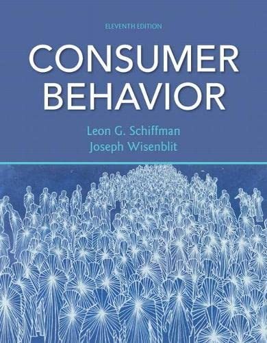 9780132544368: Consumer Behavior (11th Edition)