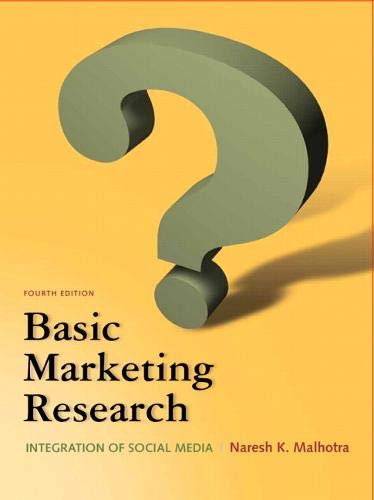 9780132544481: Basic Marketing Research (4th Edition)