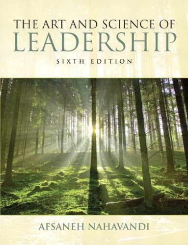 9780132544580: The Art and Science of Leadership (6th Edition)