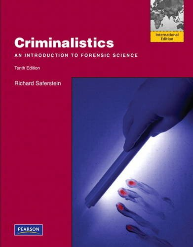 9780132545792: Criminalistics: An Introduction to Forensic Science