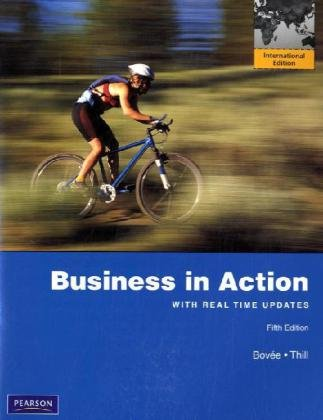 9780132546881: Business in Action: International Version