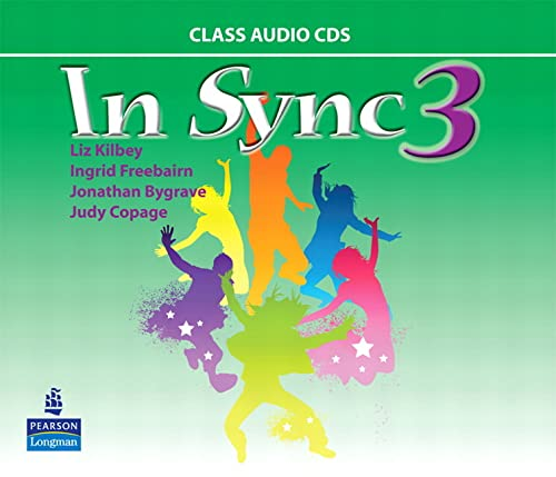 9780132548038: In Sync 3 Class AudioCDs