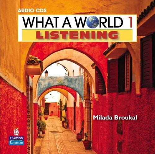 9780132548359: What a World Listening 1 Classroom Audio CD