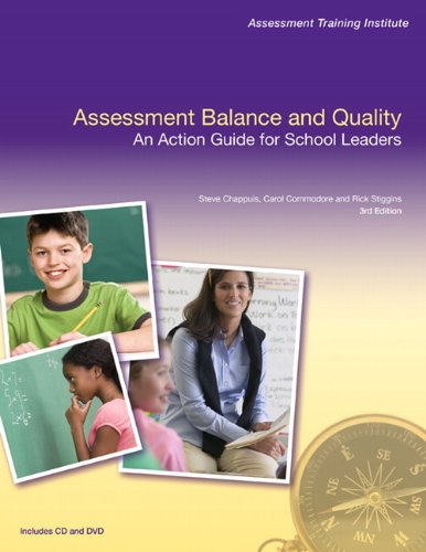 9780132548786: Assessment Balance and Quality: An Action Guide for School Leaders (3rd Edition) (Assessment Training Institute, Inc.)
