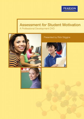 Assessment for Student Motivation DVD (Assessment Training Institute, Inc.): Stiggins, Rick J.