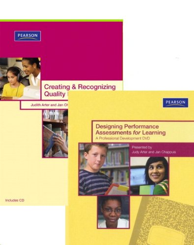 9780132548908: Designing Performance Assessments for Learning DVD Package (Assessment Training Institute, Inc.)