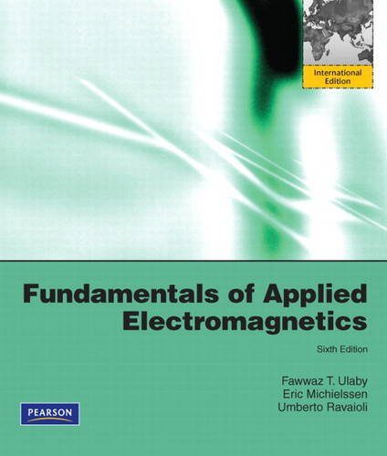 9780132550086: Fundamentals of Applied Electromagnetics:International Edition