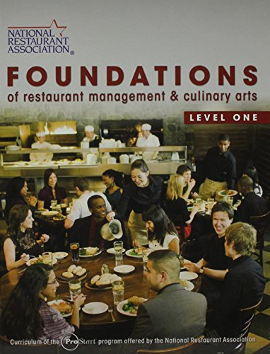 9780132550710: Foundations of Restaurant Management & Culinary Arts: Level 1&2 Student Edition