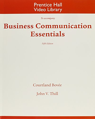 9780132551472: DVD for Business Communication Essentials