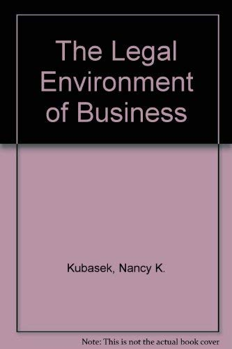 9780132552332: The Legal Environment of Business
