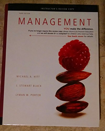 9780132553339: Management Instructors Review Copy