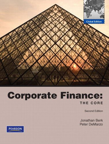 9780132554268: Corporate Finance: The Core & MyFinanceLab Student Access Code Card