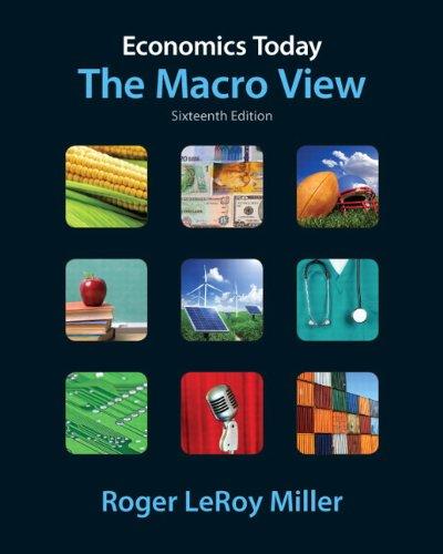 9780132554510: Economics Today: The Macro View (16th Edition) (Pearson Series in Economics)