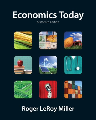9780132554619: Economics Today (16th Edition) (Pearson Series in Economics)