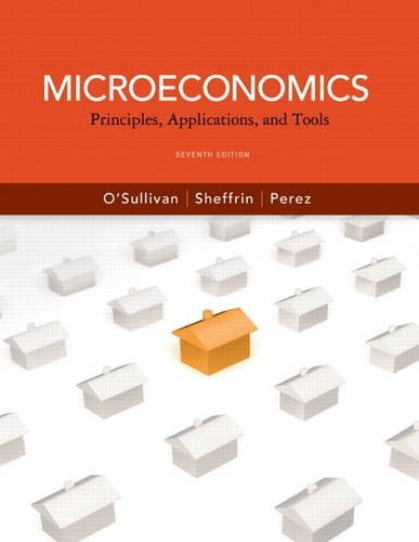 9780132555517: Microeconomics: Principles, Applications and Tools (7th Edition) (Pearson Series in Economics)