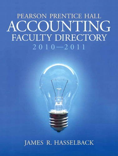 9780132555760: Pearson Prectice Hall Accounting Facult
