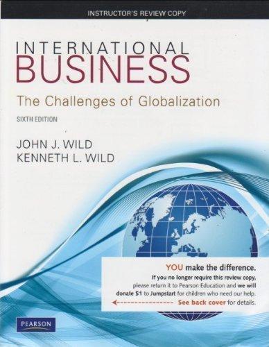 9780132555807: Exam Copy for International Business