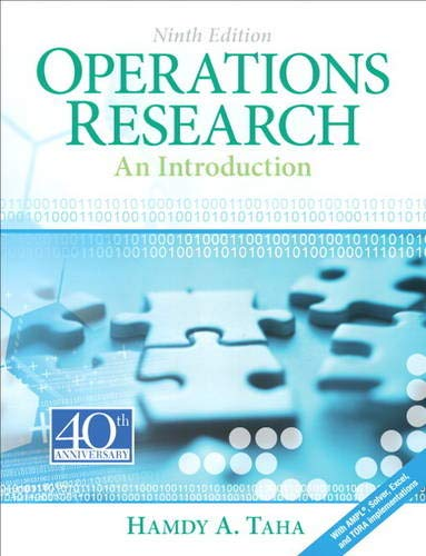 9780132555937: Operations Research: An Introduction (9th Edition)