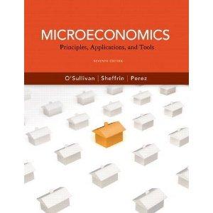 9780132556187: Microeconomics: Principles, Applications and Tools (7th Edition)