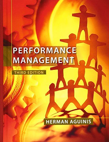 9780132556385: Performance Management