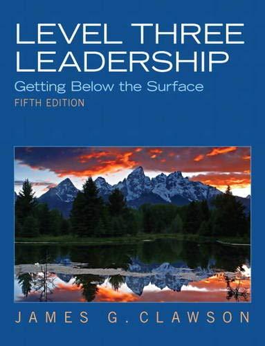 9780132556415: Level Three Leadership