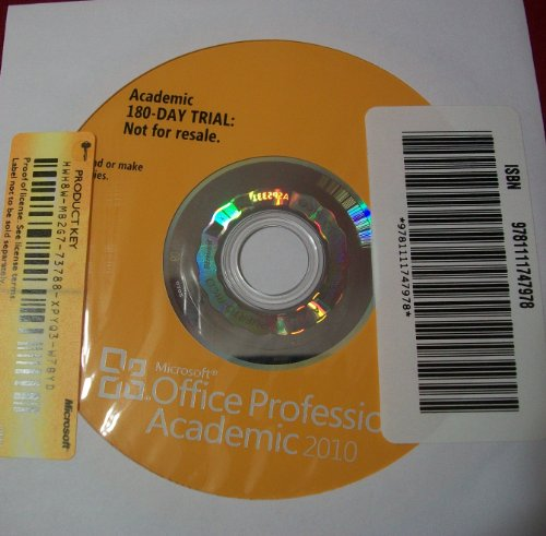 9780132556583: Microsoft Office 2010 180-day Trial CD