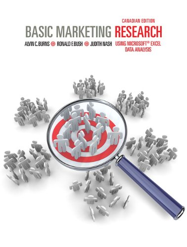 9780132557368: Basic Marketing Research: Using Microsoft Excel Data Analysis, First Canadian Edition with Companion Website