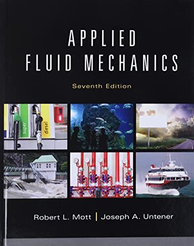 Applied Fluid Mechanics (7th Edition): Untener, Joseph A.,