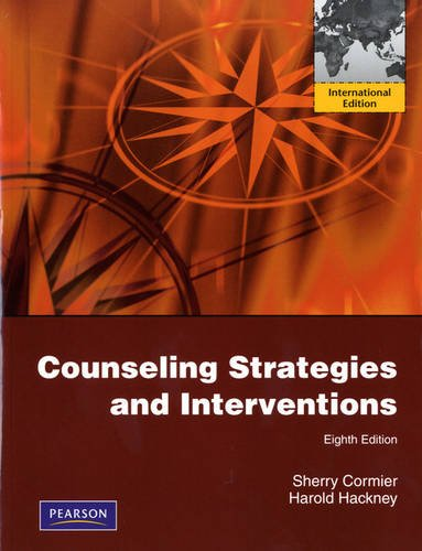 9780132559218: Counseling Strategies and Interventions