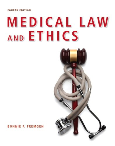 9780132559225: Medical Law and Ethics