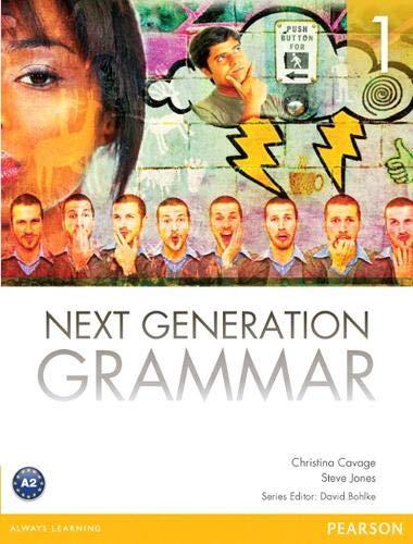 Next Generation Grammar 1 with MyEnglishLab (0132560631) by Christina M. Cavage; Steve Jones